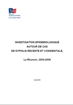 INVESTIGATION EPIDEMIOLOGIQUE AUTOUR DE CAS DE SYPHILIS RECENTE ET ...