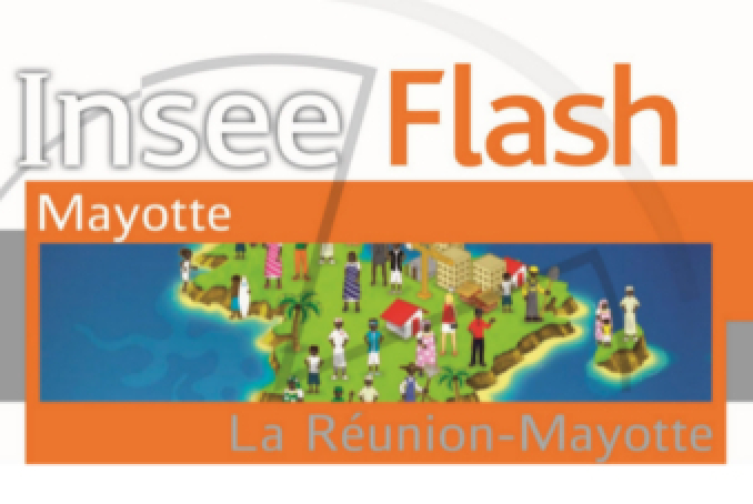 Visuel Insee Flash Mayotte